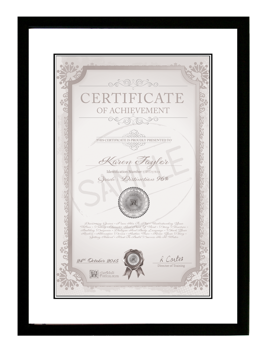 what is the purpose of a certificate of service
